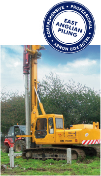 East anglian piling   - Piling rigs - steel fixing - piling - rc concrete